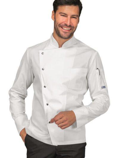 Giacche Cuoco Uomo Bianche