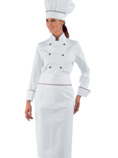 Giacche Cuoco Donna Bianche