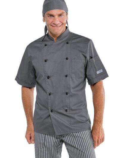 Giacche Cuoco Unisex Colorate Manica Corta