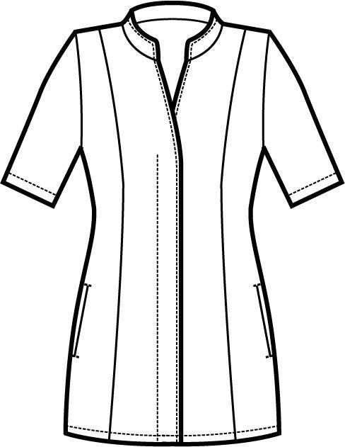 002600 casacca ibiscus A | Acquista Online La tua Divisa