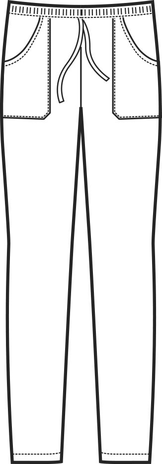 044000 pantalone c elastico A | Acquista Online La tua Divisa