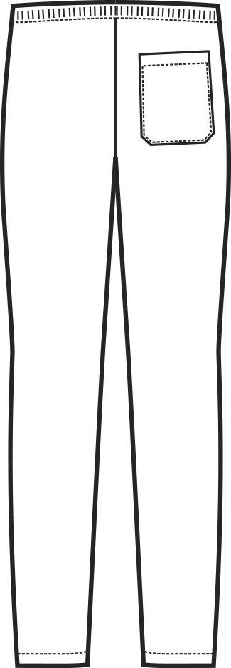 044000 pantalone c elastico B | Acquista Online La tua Divisa