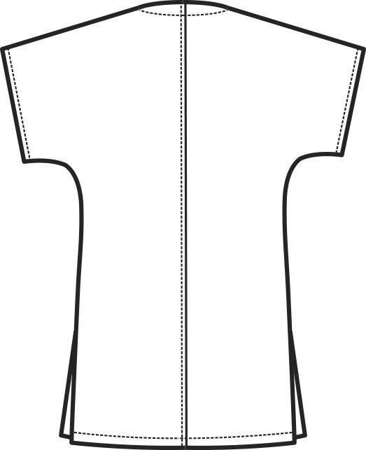 045000 casacca collo a V B | Acquista Online La tua Divisa
