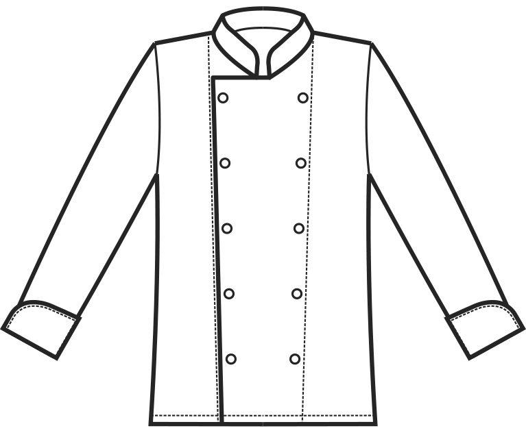 057000 giacca cuoco A | Acquista Online La tua Divisa