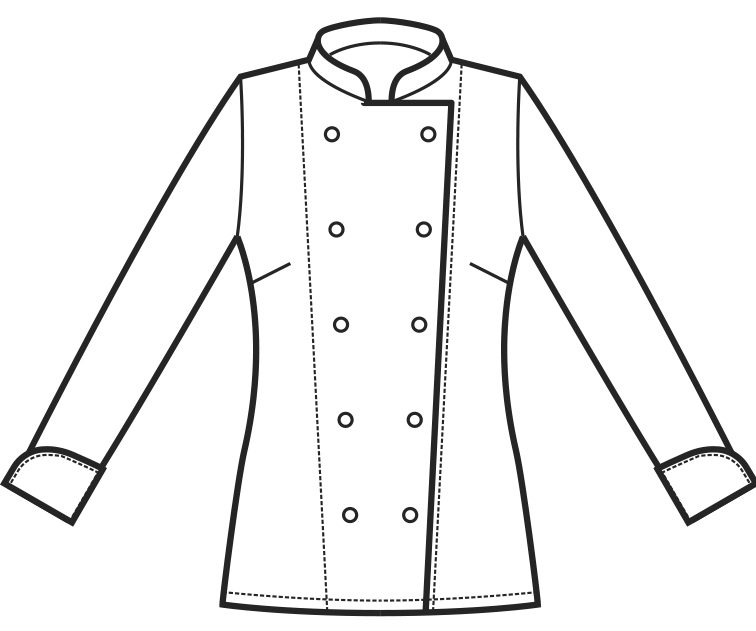 057500 ladychef A | Acquista Online La tua Divisa