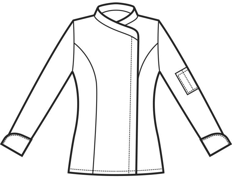 057700 giacca lady snaps A | Acquista Online La tua Divisa