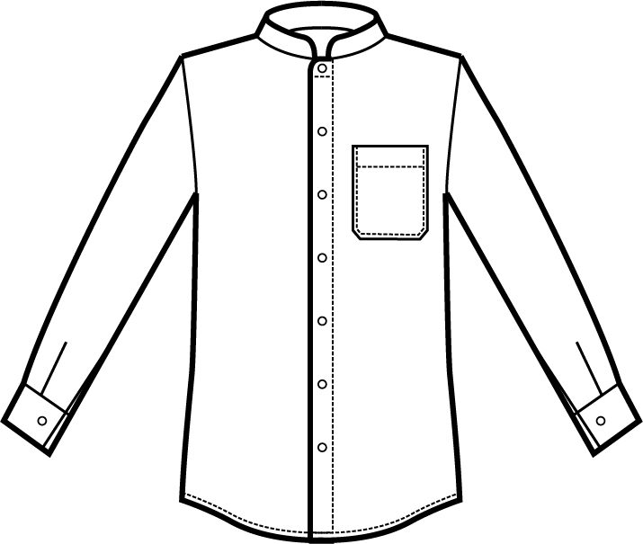 061800 camicia dublino unisex A | Acquista Online La tua Divisa