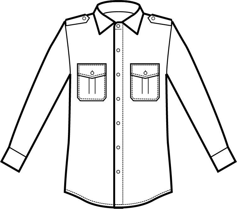 062800 camicia pilota A | Acquista Online La tua Divisa