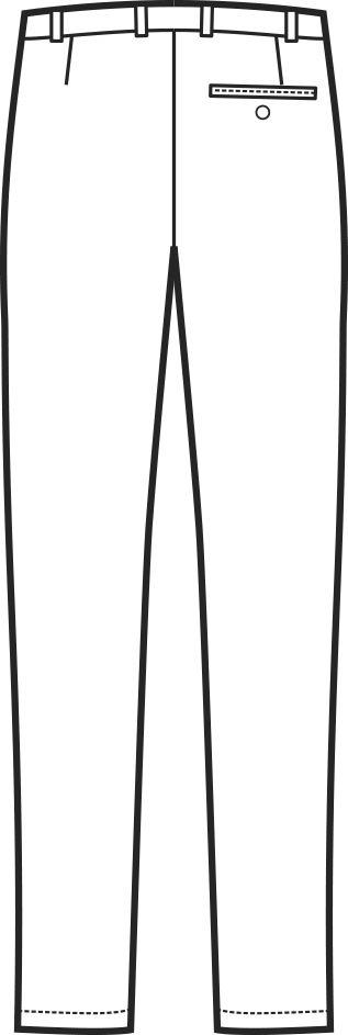 063500 pantalone senza pinces B | Acquista Online La tua Divisa