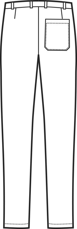 064500 pantalone yale slim B | Acquista Online La tua Divisa