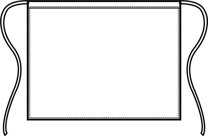 086000 grembiule vita | Acquista Online La tua Divisa