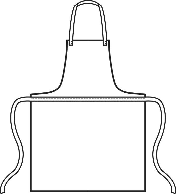 091000 grembiule pettorina cerato | Acquista Online La tua Divisa