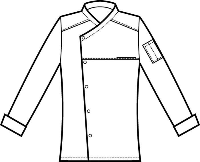 058400 giacca cuoco erickson A | Acquista Online La tua Divisa